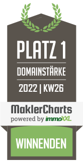 Immobilienbüro Winnenden Bester Makler in Winnenden KW 04 immoXXL MaklerCharts