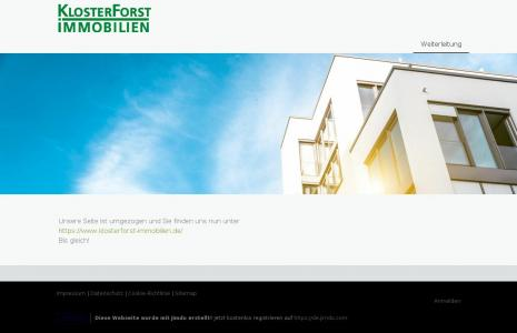 www.kloster-forst-immobilien.jimdo.com